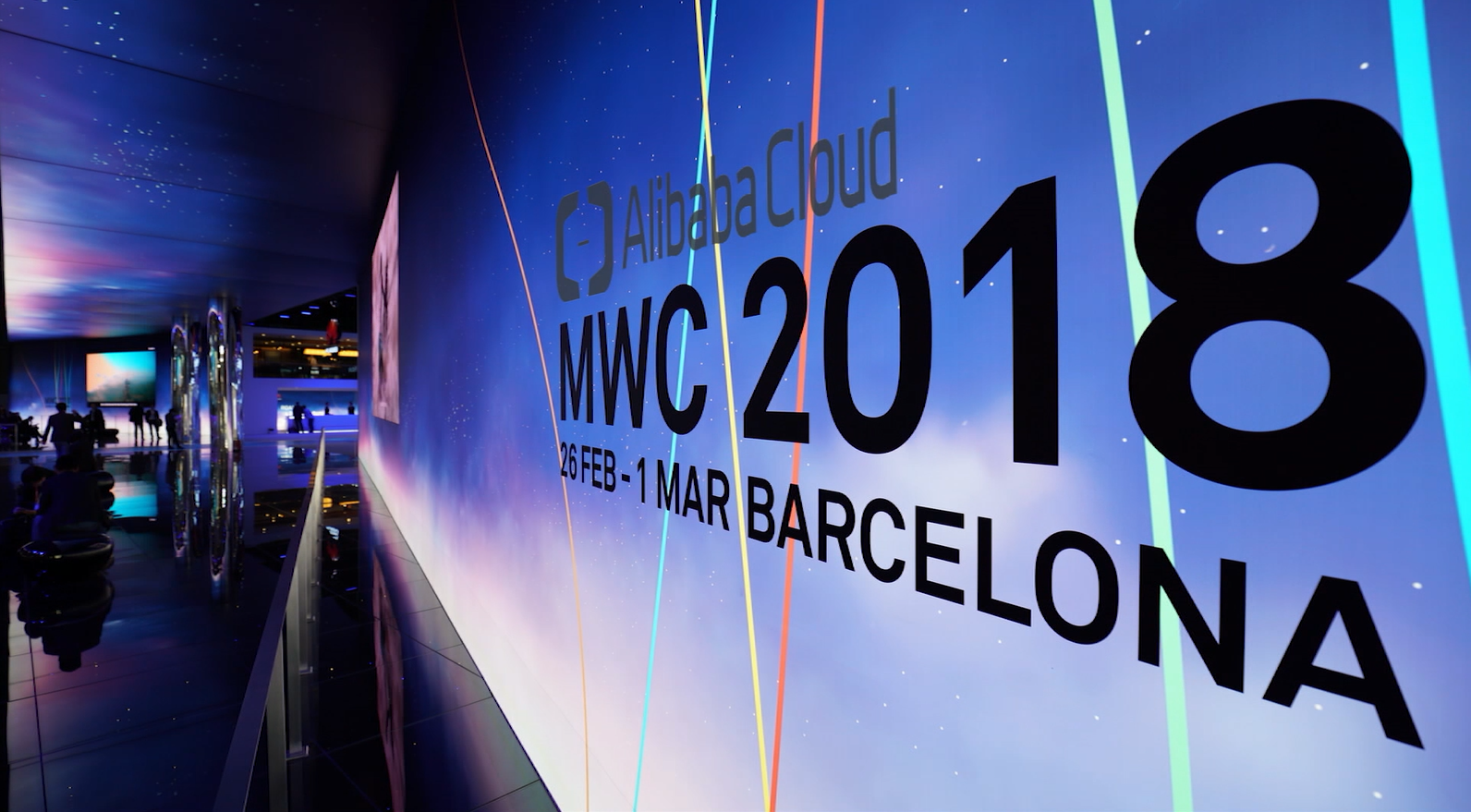 Alibaba Cloud at Mobile World Congress (MWC 2018)