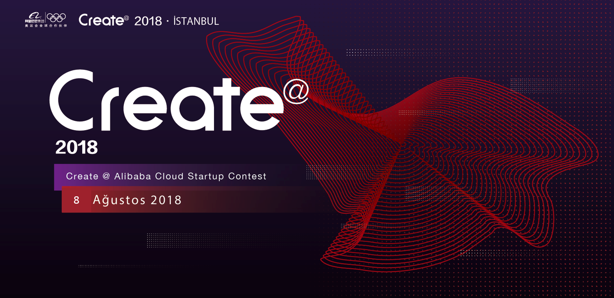 2018 Create@ Alibaba Cloud Startup Contest - Istanbul Turkey